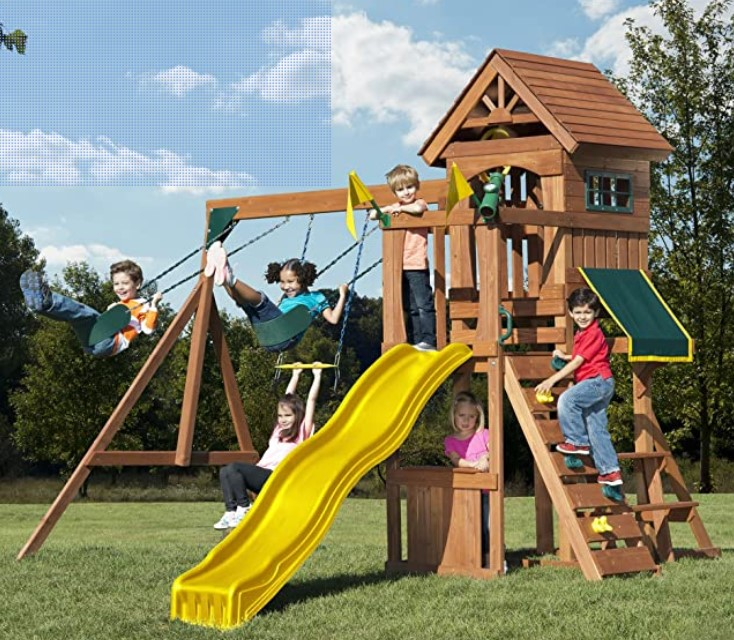 Outdoor Playsets for Kids 3
