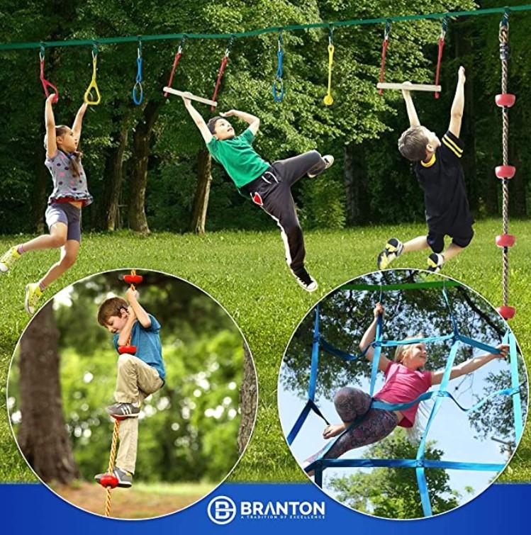 B Branton Ninja Warrior Obstacle Course