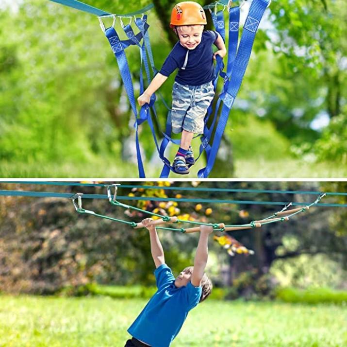 Jugader Ninja Slackline Obstacle Course