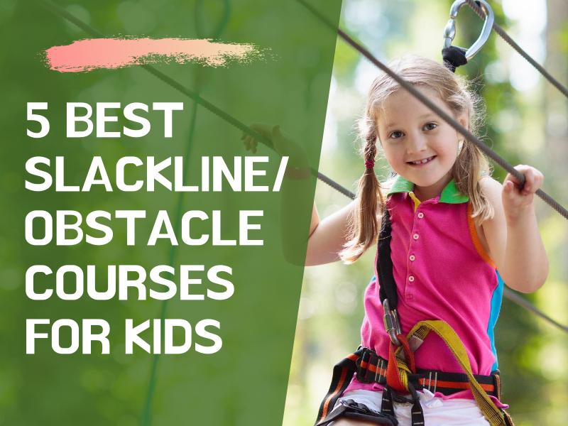 Slackline Obstacle Courses for Kids