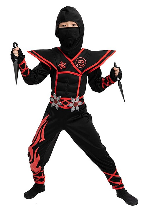Ninja Preschooler Costume