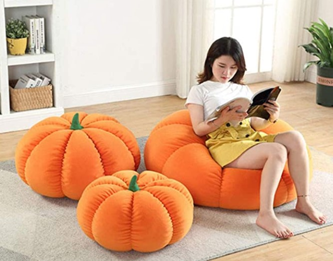 Pumpkin Bean Bag
