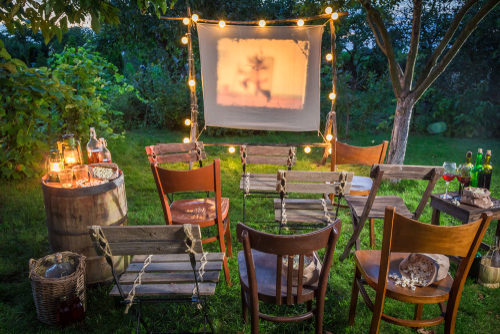 outdoor movie projectors for kids
