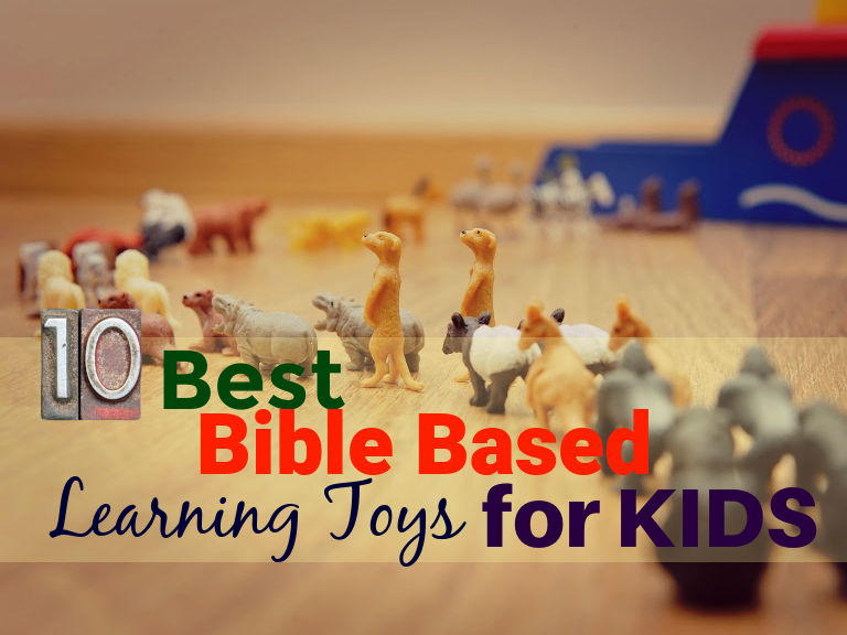 Best Bible Based Learning Toys for Kids Header