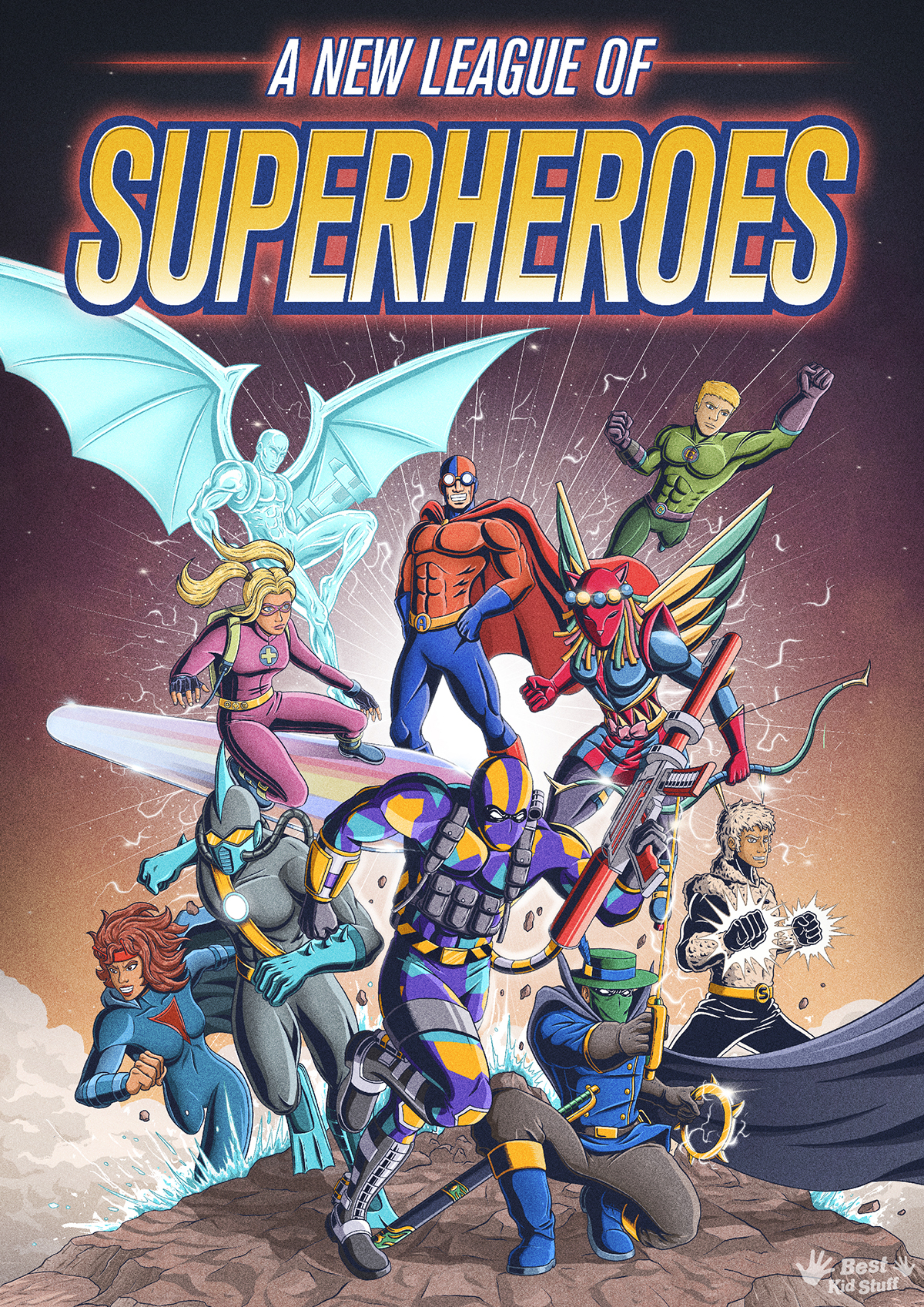 00 New League of Superheroes