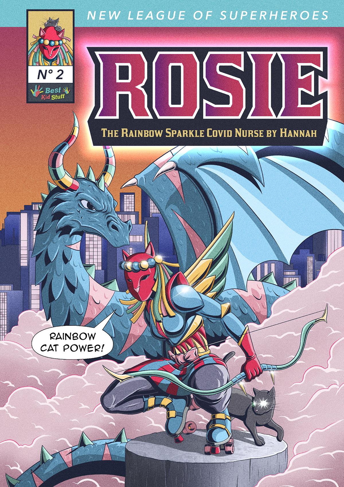 02 New League of Superheroes Rosie