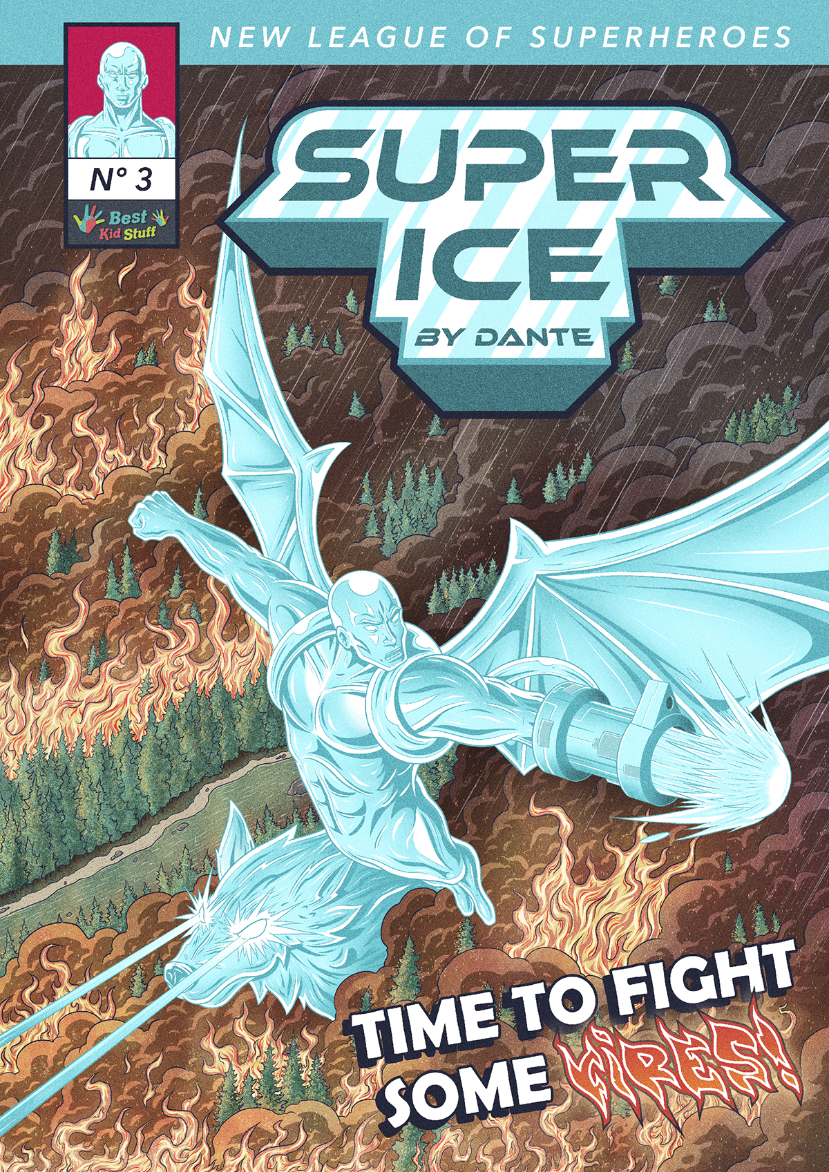 03 New League of Superheroes Super Ice