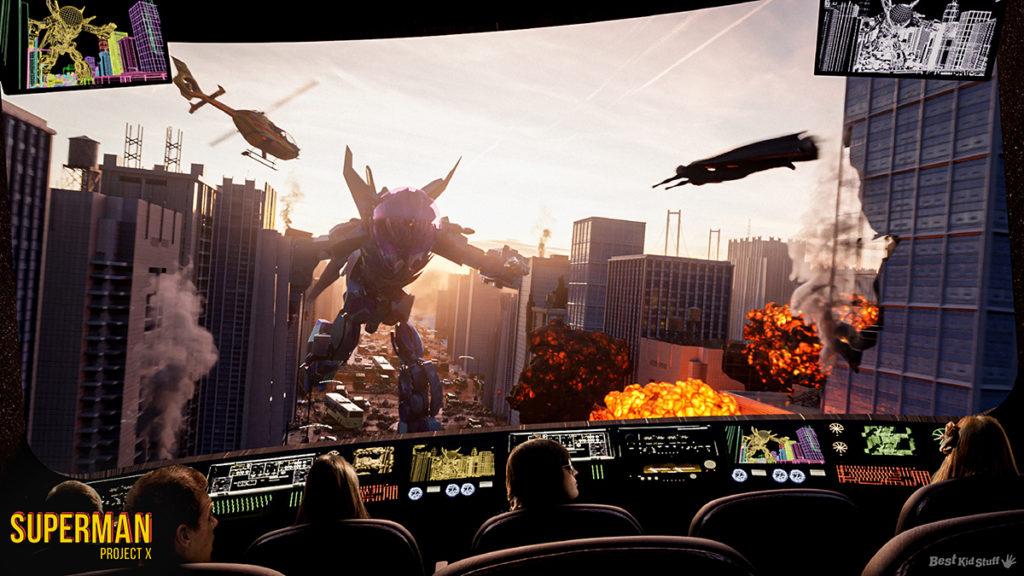 04 theme parks rides superman project x