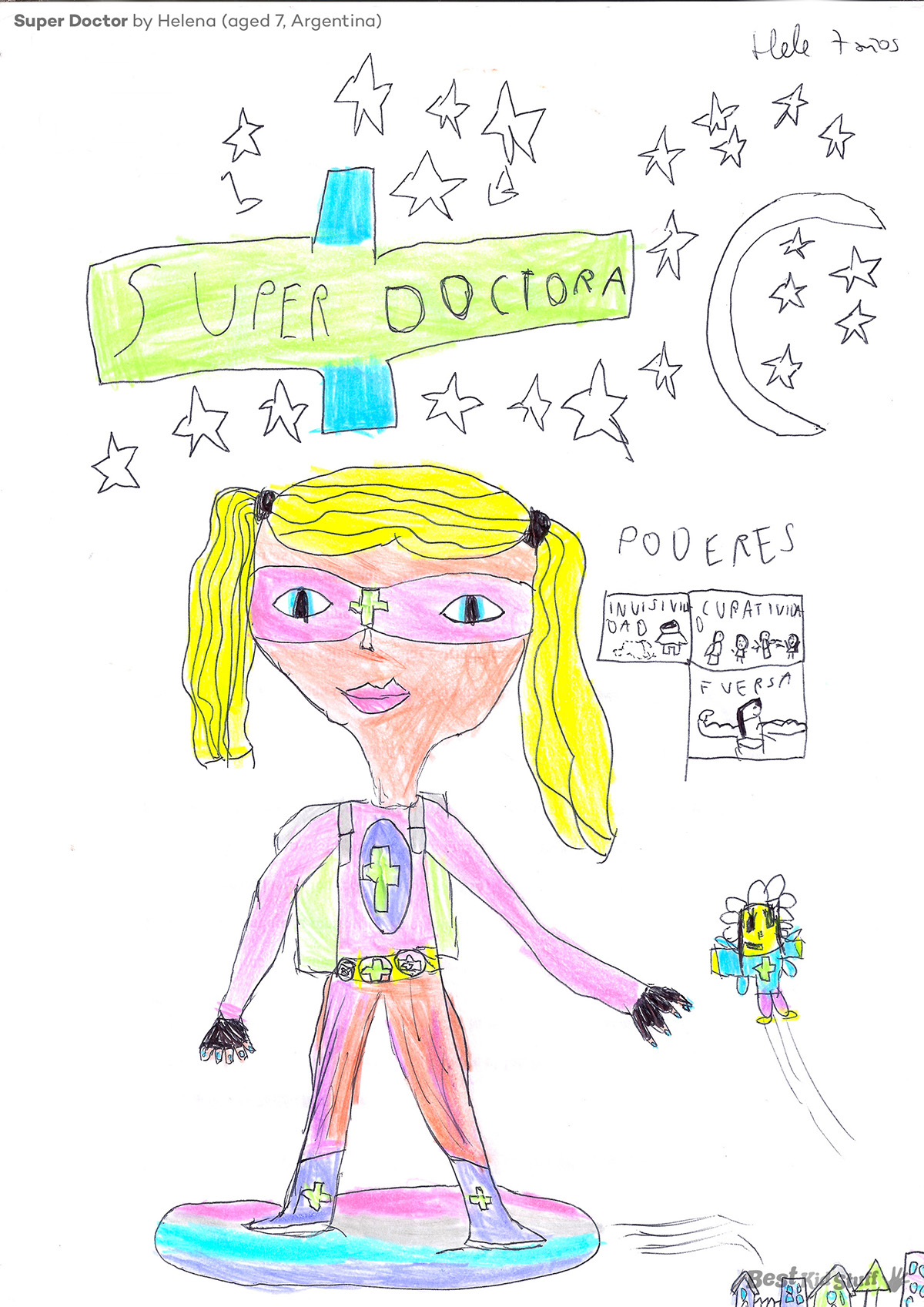 06 New League of Superheroes Super Doctor Original