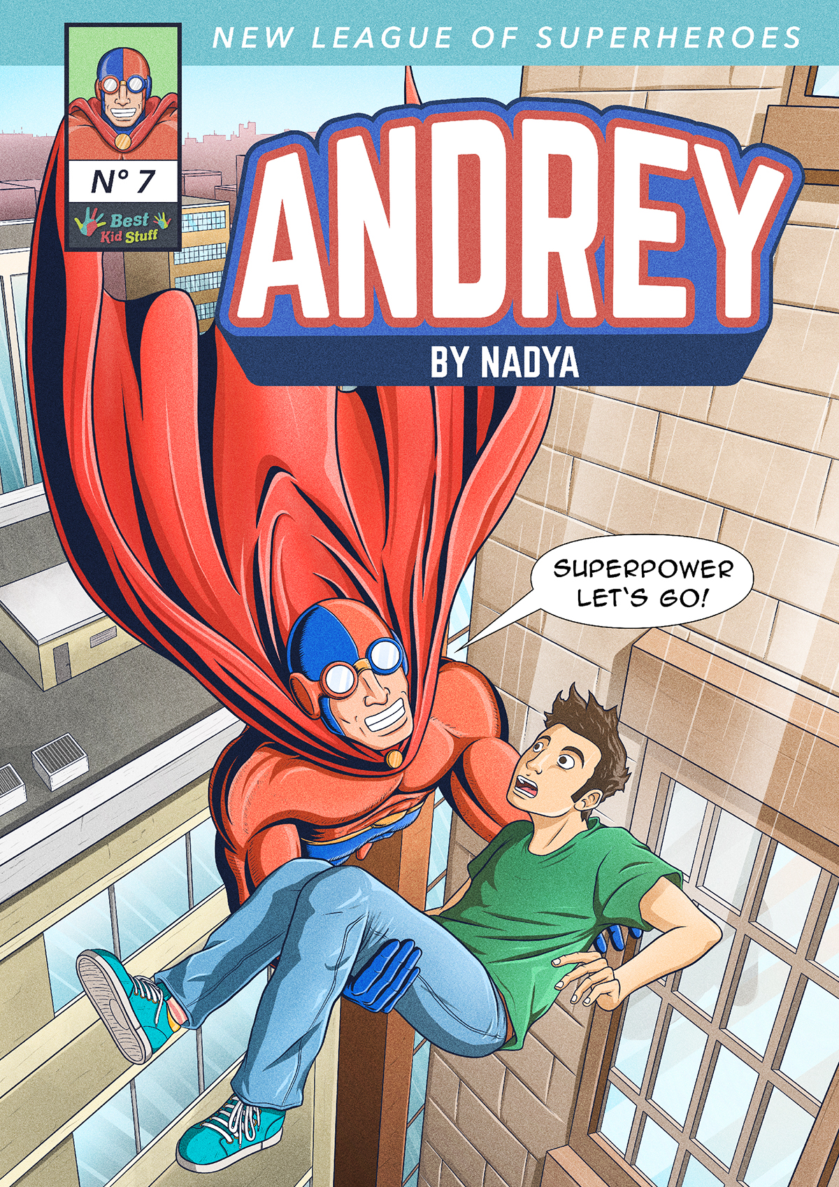 07 New League of Superheroes Andrey