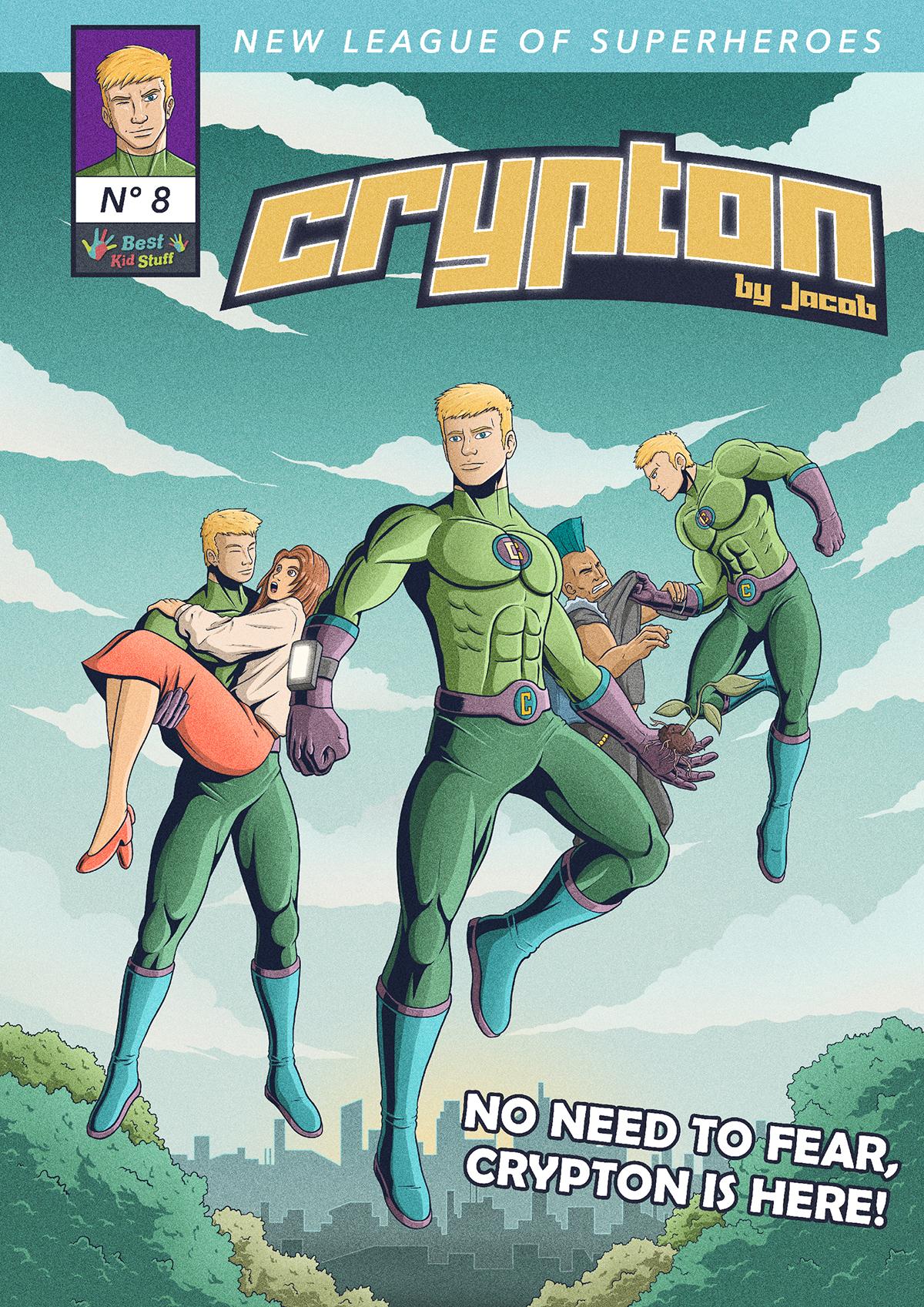 08 New League of Superheroes Crypton