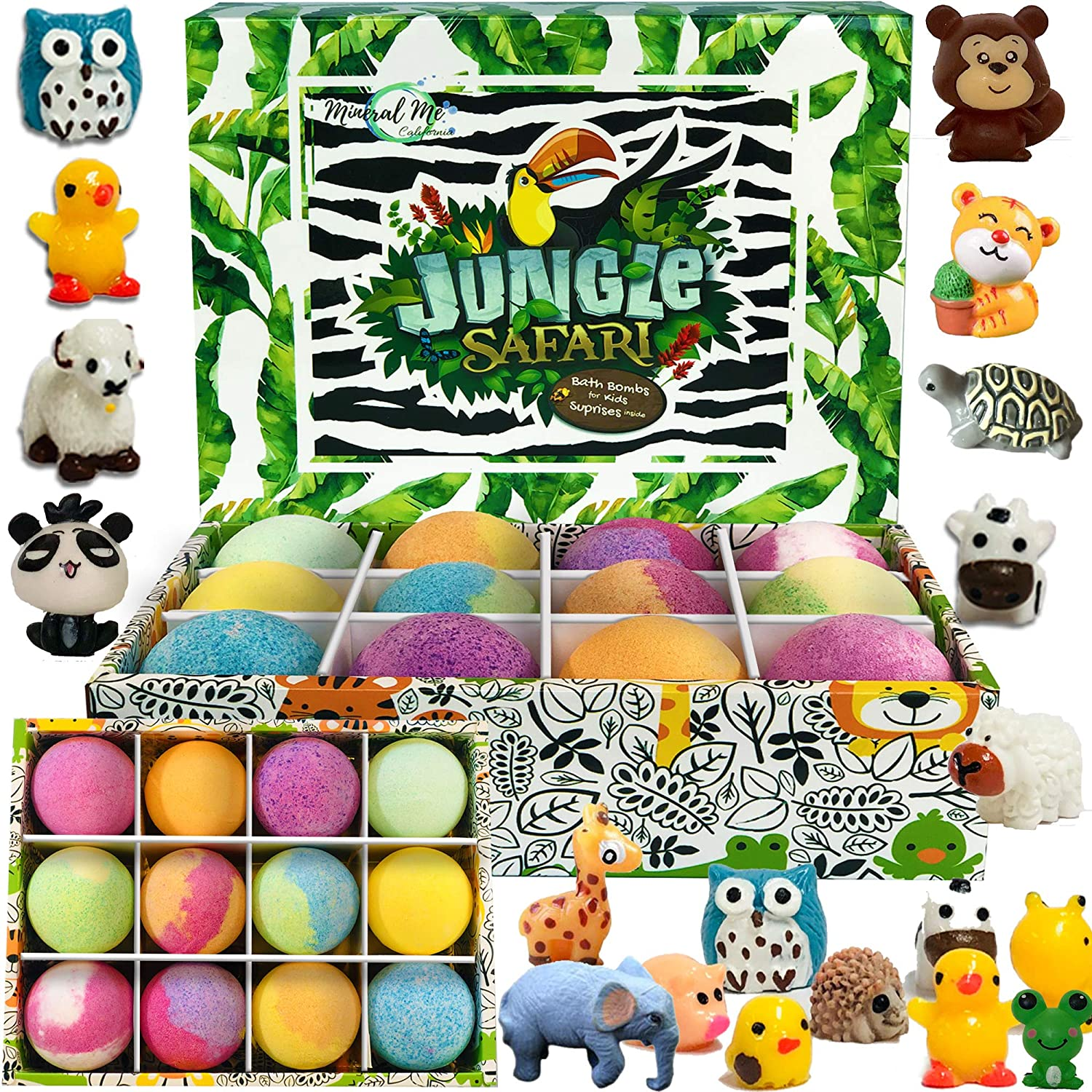 Toddlers Bedtime Regiments Bath Bombs with Toys