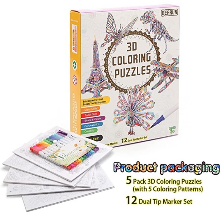 3D Puzzle 9
