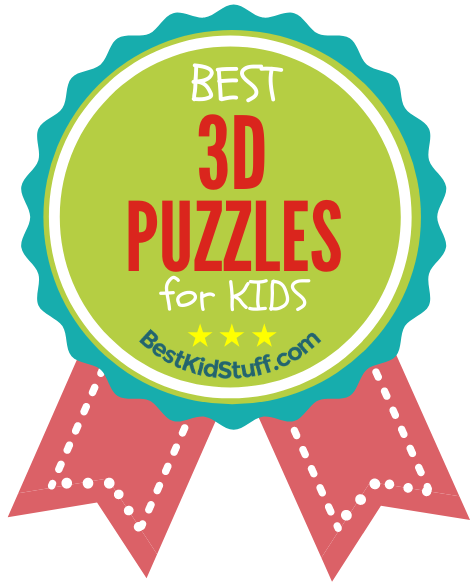 Best 3D Puzzles for Kids_badge