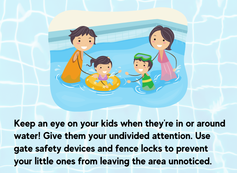 Super Fun Pool Activities_pool safety tip