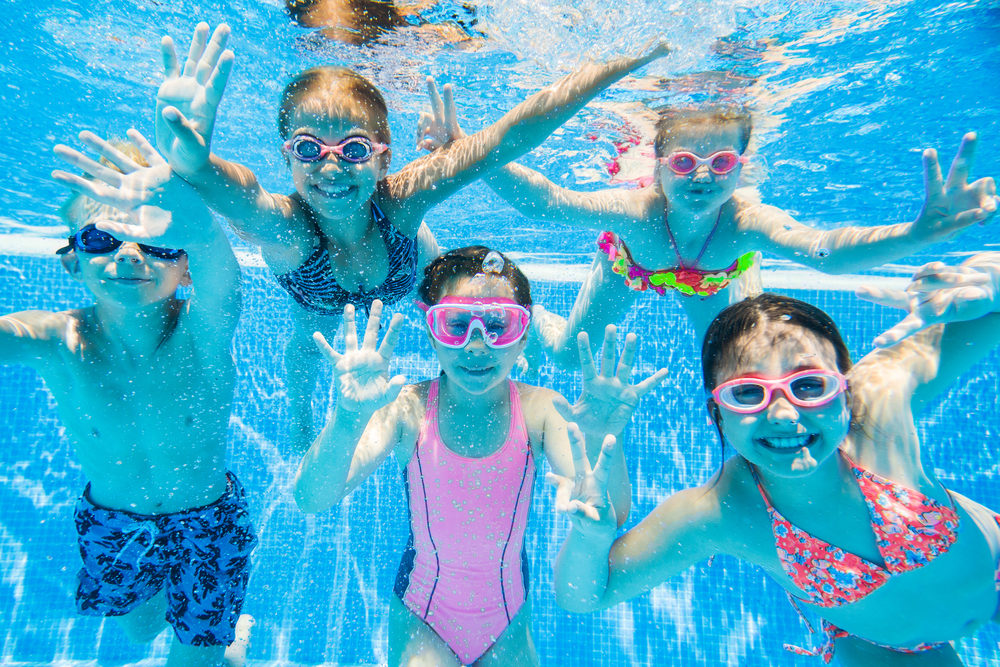 fun activities by the pool for kids