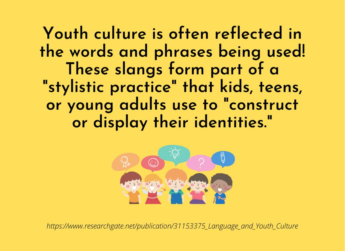 Kdis Slang - fact on youth culture and slang