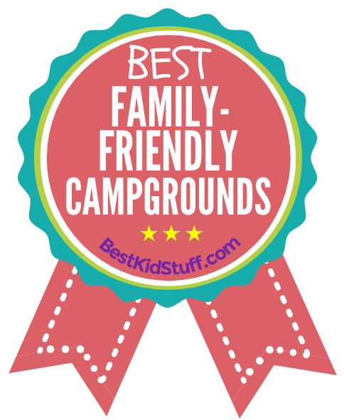 Best Family-friendly Campgrounds - badge