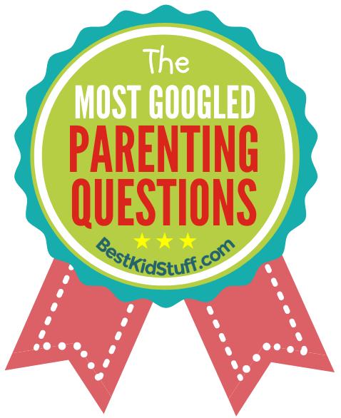Most googled parenting questions - badge